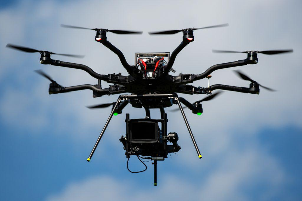 Our new Freefly ALTA8 drone