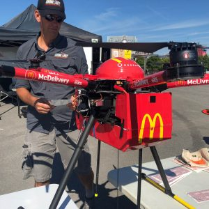 mcdrone delivery