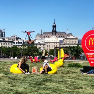 McDonalds drone delivery Montreal