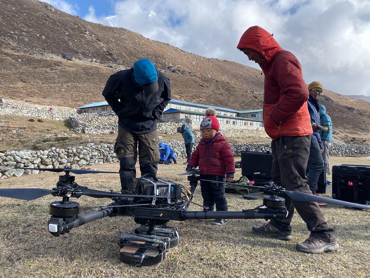 Nepal high altitude drone pilots