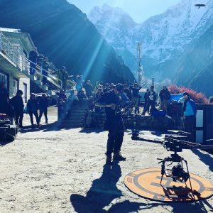 high altitude drone crew nepal