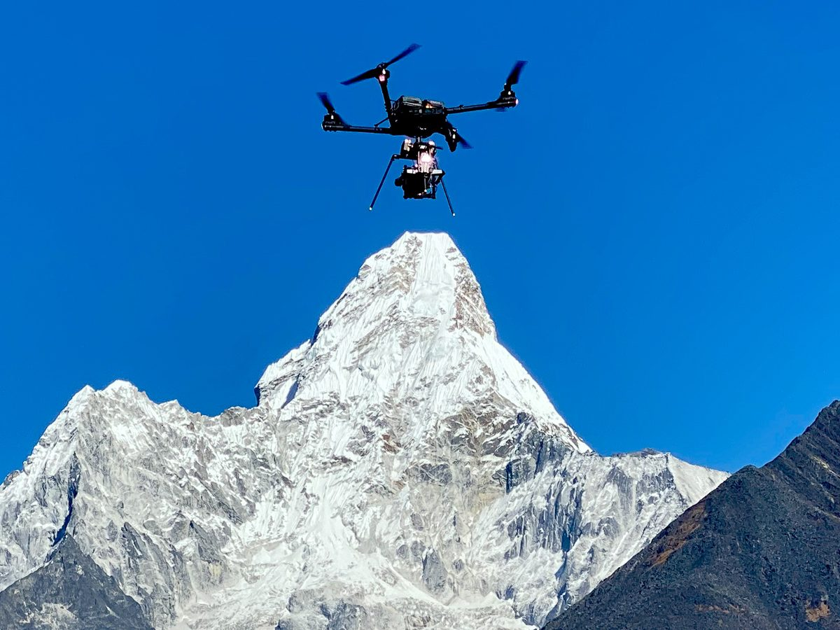 ultra heavy lift freely alta x flying red monster 8k at high altitude