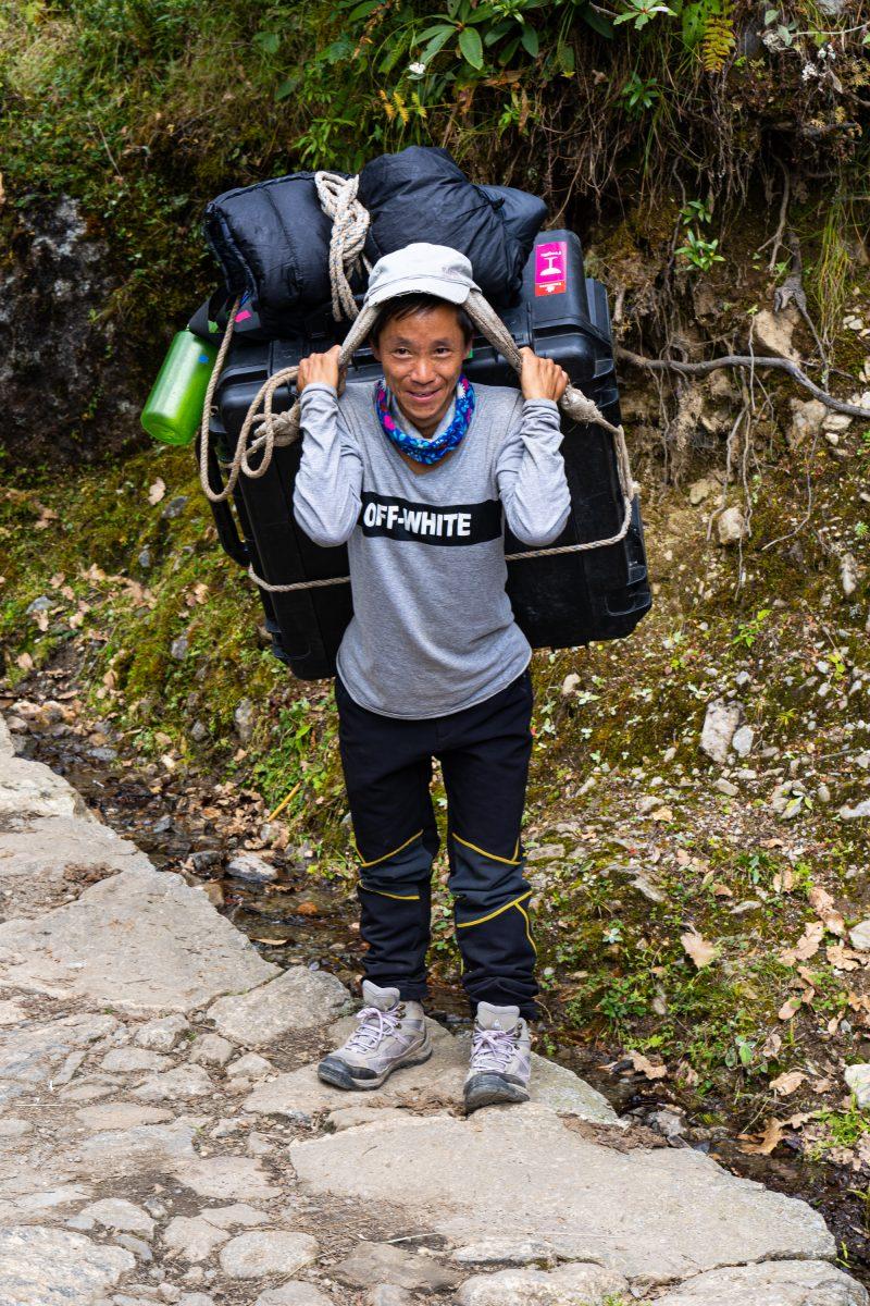 drone porter nepal