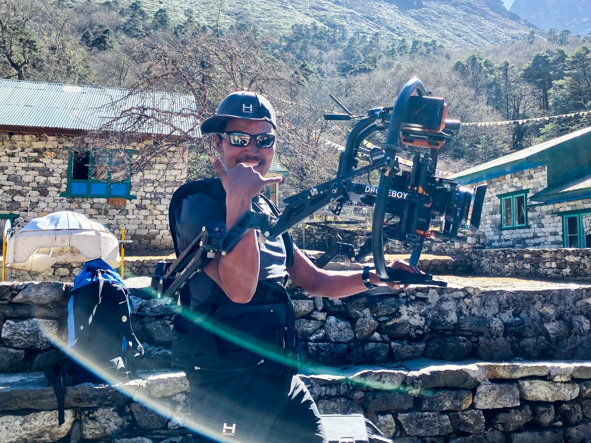 sherpa helps drone team
