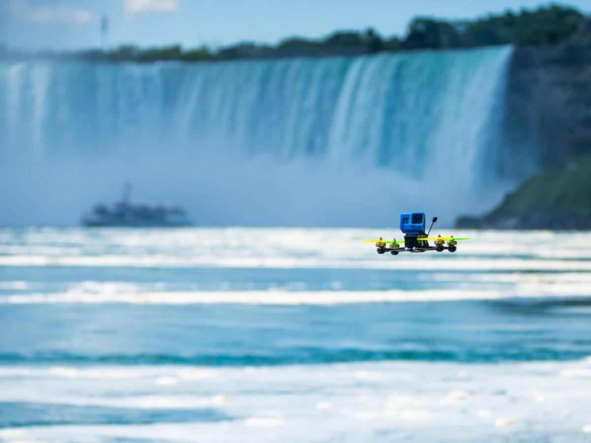 Niagara Falls cinema FPV drone film