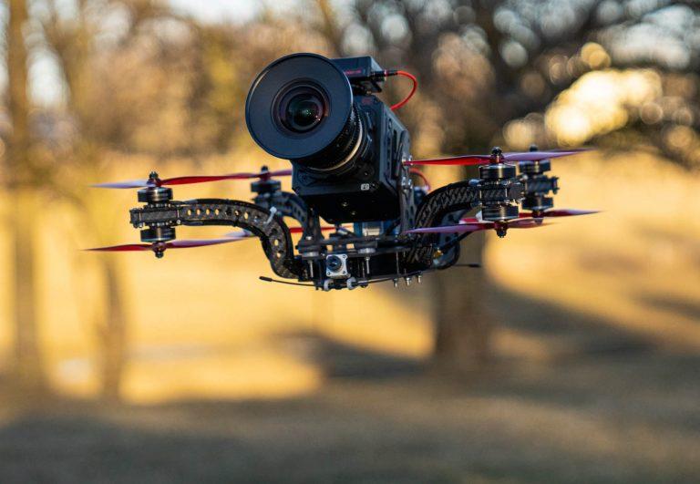 heavy lift FPV cinema drone