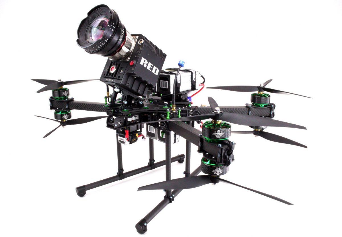 Heavy lift fpv drone - moneyshot