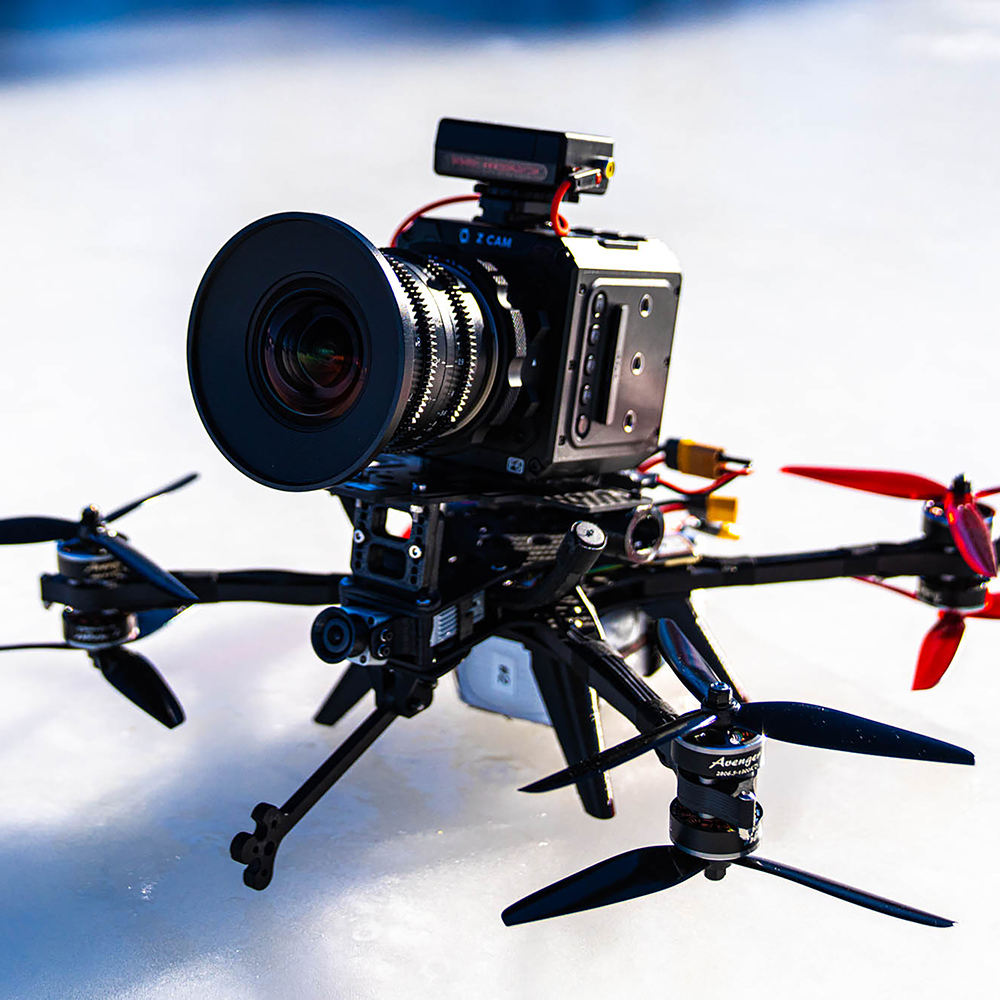 Thicc FPV cinelifter drone
