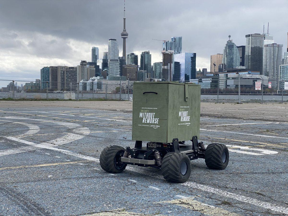 Amazon drone delivery stunt toronto