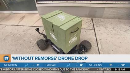 Drone delivery toronto